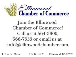 Be an Ellinwood Chamber Member