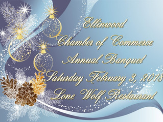 2018 Ellinwood Chamber of Commerce Annual Banquet