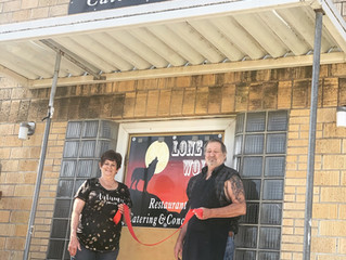 Lone Wolf Restaurant opens their doors for business!