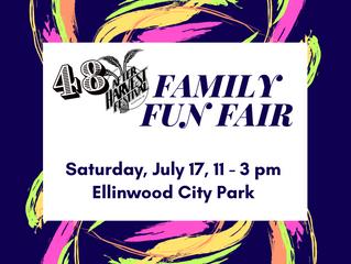 AHF Family Fun Fair July 17 11-3 pm