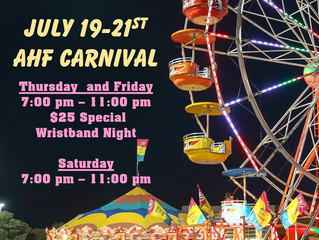 The carnival is HERE!!!