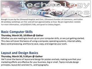 Technology Workshop March 30th