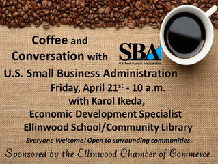 Join us for a Special Chamber Coffee!