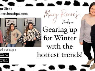 Shop Macy Renee's Boutique online or app for the latest winter trends