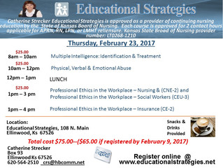 Educational Strategies Workshop