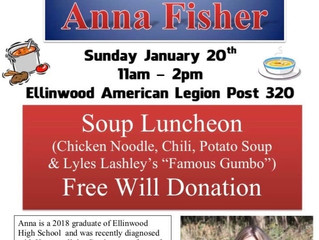Benefit for Anna Fisher