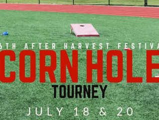 AHF Jr. Cornhole/Cornhole Benefit Tournament  July 18 & 20