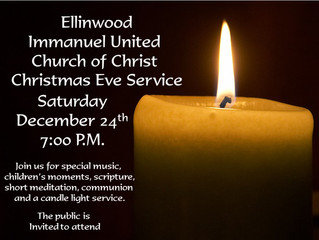 IUCC Candle Light Service