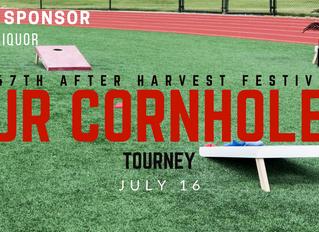 Ellinwood After Harvest Festival Jr. Cornhole Tournament July 16th