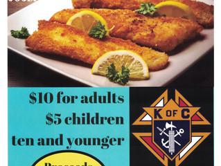 Ellinwood KofC Friday Fish Fry