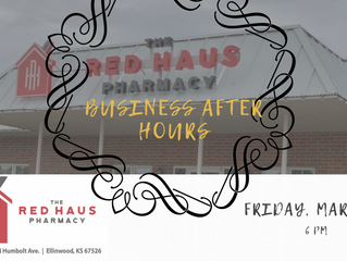 The Red Haus Pharmacy After Hours March 27th