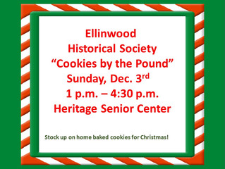 "Historical Society Sell ""Cookies by the Pound"""