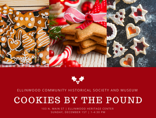 Historical Society presents Cookies by the Pound Dec. 1st