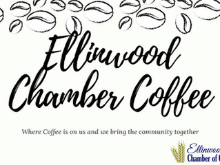 Ellinwood Chamber Coffee hosted by Ellinwood School/Community Library August 13th