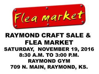 Raymond Craft Sale & Flea Market