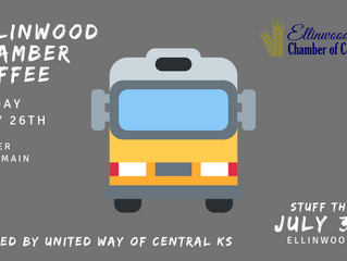 Ellinwood Chamber Coffee July 26 - hosted by United Way of Central Kansas