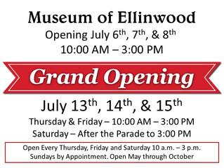 Museum of Ellinwood Opens