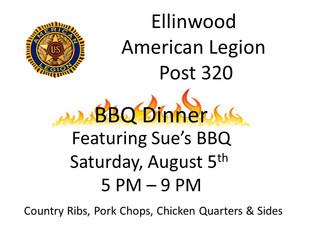Legion BBQ Dinner