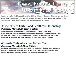 Technology Workshop March 29th