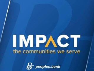 Ribbon Cutting - Peoples Bank And Trust March 12th