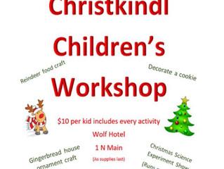 Christkindlmarket Children's Workshop Dec. 1st
