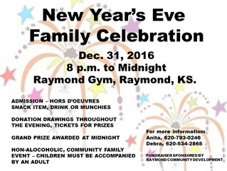 Raymond New Year's Eve Celebration