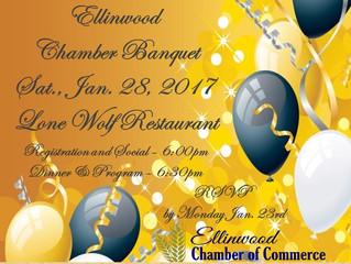 Ellinwood Chamber Banquet