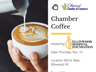 Ellinwood Chamber Coffee Thurs., Nov. 14