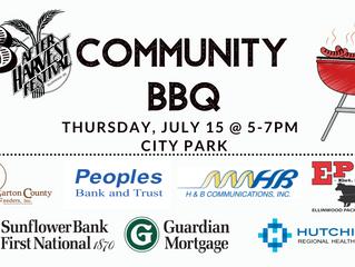 AHF Community BBQ July 15