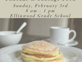 Ellinwood Lions Club Pancake & Sausage Feed Feb. 3rd