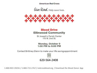 Ellinwood Community Blood Drive