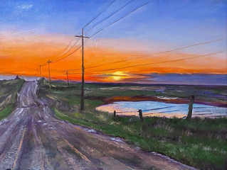 "Shafer Art Gallery presents the ""Kansas Byways"" exhibit from  Jan. 18 through Feb. 19"