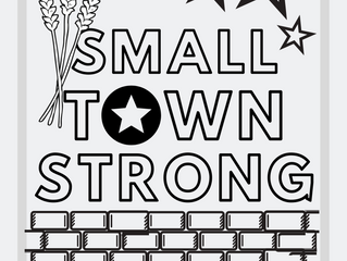Ellinwood Small Town Strong Coloring Sheet