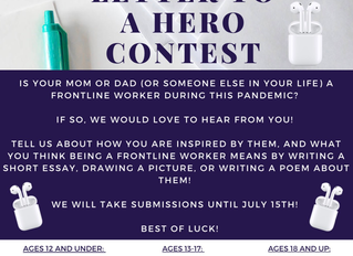Azria Health Woodhaven 'Letter to Hero Contest'