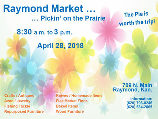 Raymond Market  April 28th