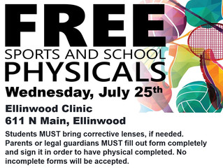 Free Student Physicals