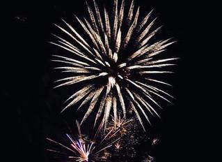 Ellinwood Fireworks Display July 4th