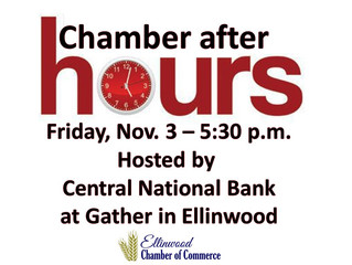 Central National Bank to Host Chamber After Hours