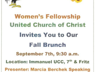 UCC Fall Brunch