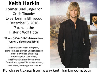 Keith Harkin Comes to Ellinwood