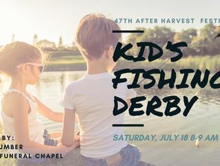 Ellinwood After Harvest Festival Kid's Fishing Derby July 18th
