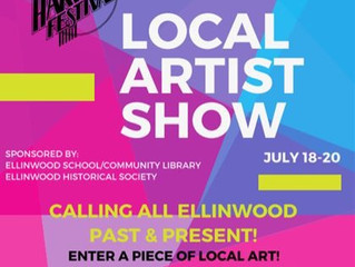AHF Local Artist Show July 18-20
