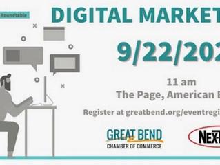 Digital Marketing Employer Roundtable Sept. 22nd