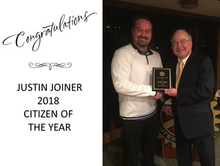 Joiner Receives Citizen of the Year Award