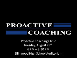 Proactive Coaching Clinic