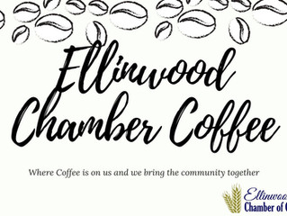 Ellinwood Chamber Coffee hosted by Community Bank Friday, Dec. 13th