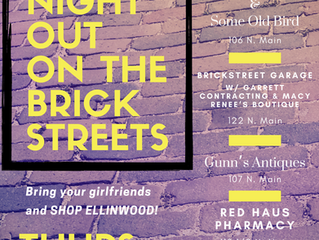 Ladies Night Out on the Brickstreets June 11th