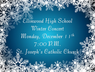 EHS Winter Concert