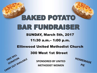 UMC Baked Potato Bar