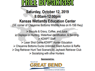 KWEC Hunters Breakfast Appreciation Day Oct. 12th